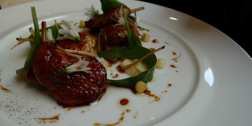 Quail at Frederic Simonin restaurant in Paris | parisbymouth.com