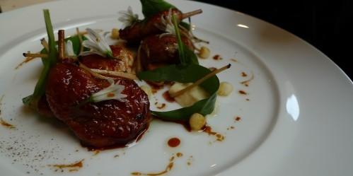 Quail at Frederic Simonin restaurant in Paris | parisbymouth.com