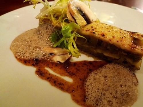 Cepe lasagna at La Table d'Eugene restaurant in Paris | parisbymouth.com