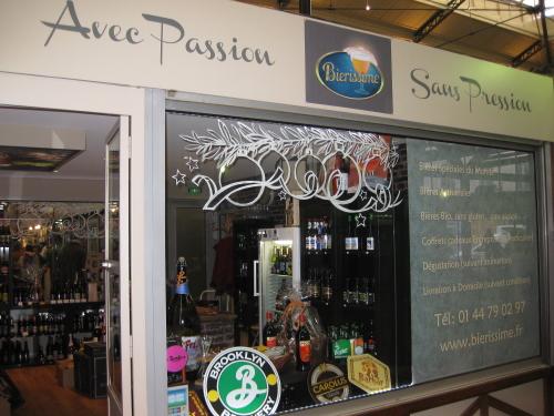 Bierissime craft beer shop in Paris