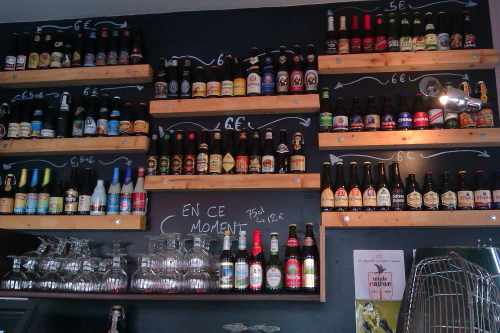 Bouillon Belge craft beer bar in Paris | Paris by Mouth