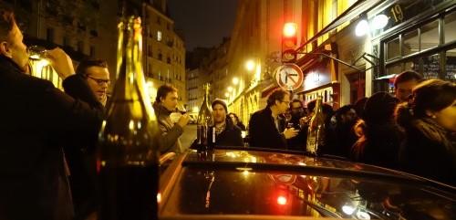 Beaujolais Nouveau in Paris