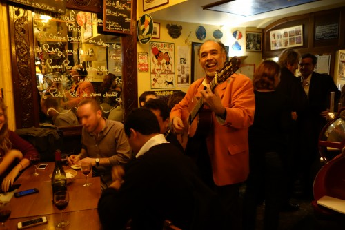 Les Pipos wine bar for Beaujolais Nouveau in Paris | Paris by Mouth
