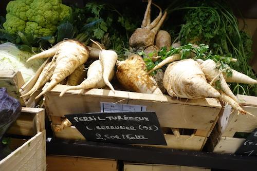 Root parsley at Terroirs d'Avenir | Paris By Mouth