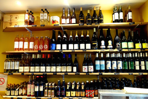 Beer and wine selection at Terroirs d'Avenir | Paris By Mouth