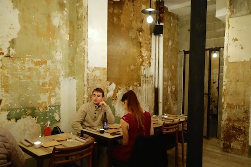 Bomb shelter interior at Dersou restaurant and cocktails in Paris | Paris by Mouth