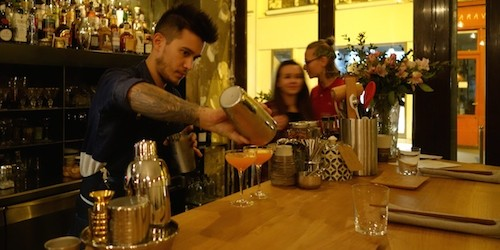 Barman Amaury at Dersou restaurant and cocktails in Paris | Paris by Mouth