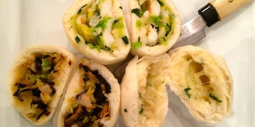 Yam'Tcha steamed buns bao brioche vapeur December 2014 from Adeline Grattard | Paris by Mouth