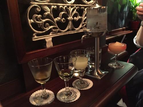 Absinthe at Lulu White cocktail bar in Paris | parisbymouth.com