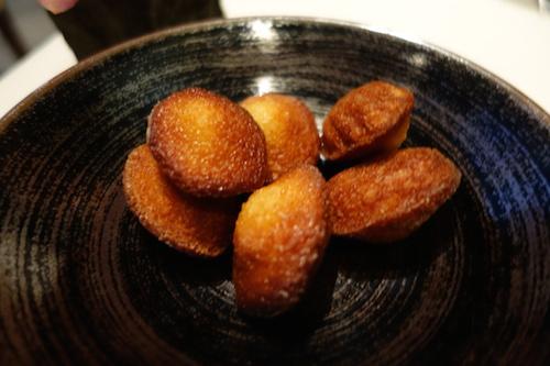 Astrance: madeleines