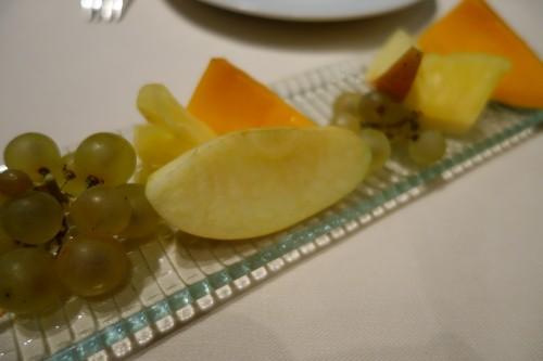 Astrance: fresh fruit