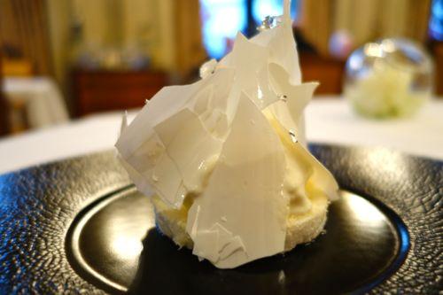 givré laitier au gout de levure (yeast)