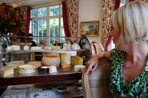 Epicure: cheese cart