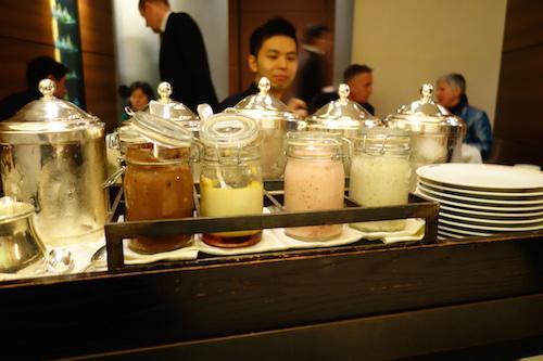 Guy Savoy: the dessert cart
