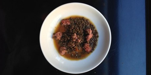 Lentils at Le Triangle bar in Paris photo via FB | parisbymouth.com