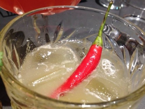 chili pepper cocktail at siseng in paris | parisbymouth.com