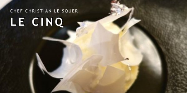 Le Cinq restaurant in Paris led by chef Christian Le Squer | parisbymouth.com