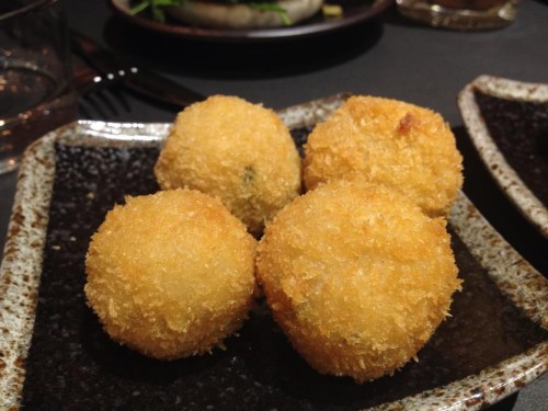 risotto balls at siseng in paris | parisbymouth.com
