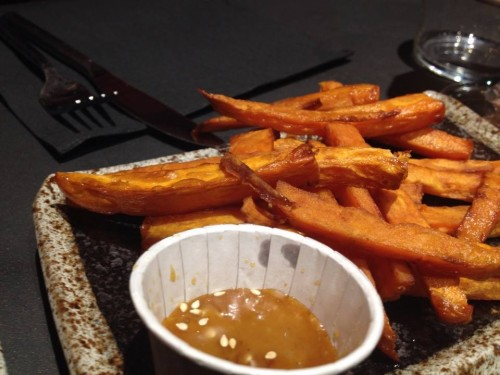 sweet potato fries at siseng in paris | parisbymouth.com