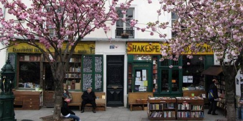 Shakespeare & Co via FB