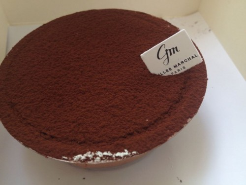 gluten free sacher cake Gilles Marchal | parisbymouth.com