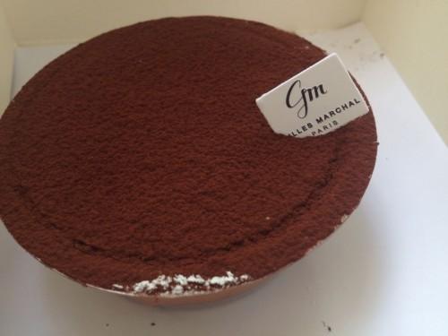 gluten free sacher cake Gilles Marchal | parisbymouth.com