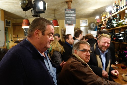 Celebrating at Le Quincave in 2013