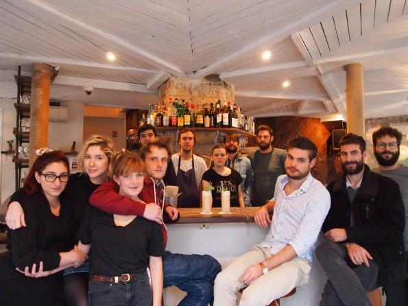 le mary celeste red cross cocktail | parisbymouth.com