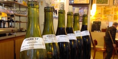 Tasting Beaujolais Nouveau at Le Rubis