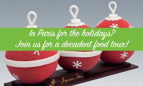 holiday food tours in paris