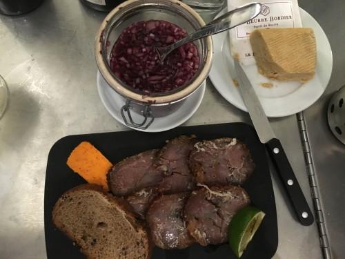rosette de thon avant comptoir de la mer | parisbymouth.com