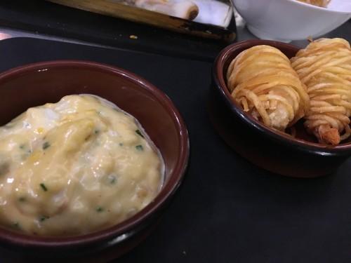 shrimp potato avant comptoir de la mer | parisbymouth.com