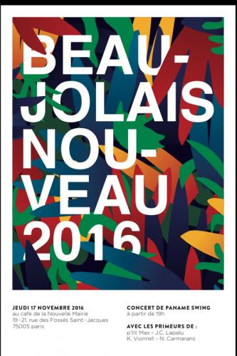Beaujolais Nouveau 2016 at Café de la Nouvelle Mairie