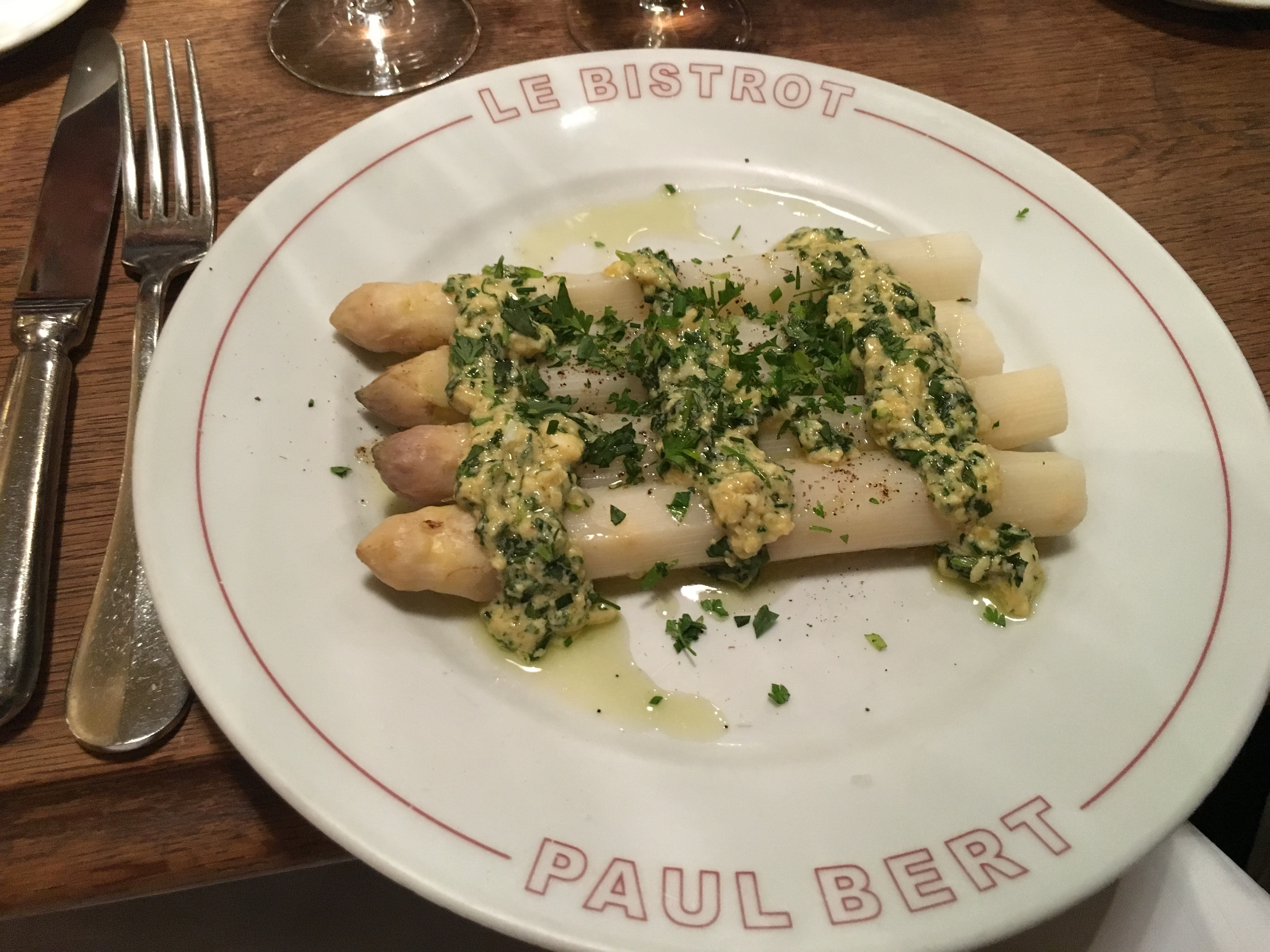 Le Bistrot Paul Bert restaurant in Paris | parisbymouth.com